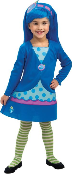 Toddler Girls Blueberry Muffin Costume