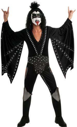 Adult Gene Simmons Demon Costume Deluxe - Kiss