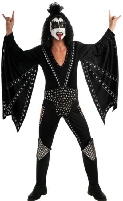 Adult Gene Simmons Demon Costume Deluxe - Kiss