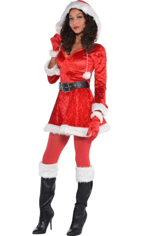 Santa and rudolph costume images