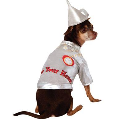 Wizard of Oz Tin Man Dog Costume