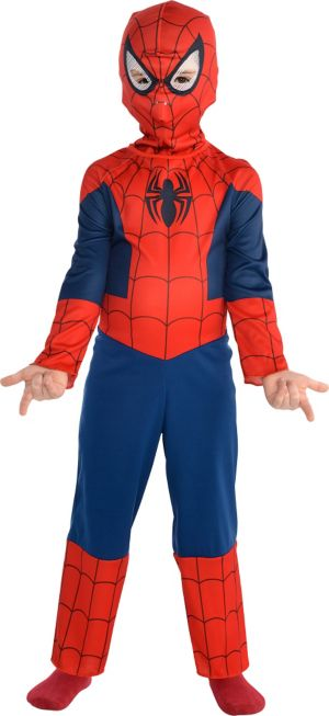 Little Boys Classic Spider-Man Costume