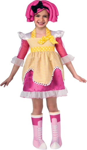 Toddler Girls Crumbs Sugar Costume - Lalaloopsy