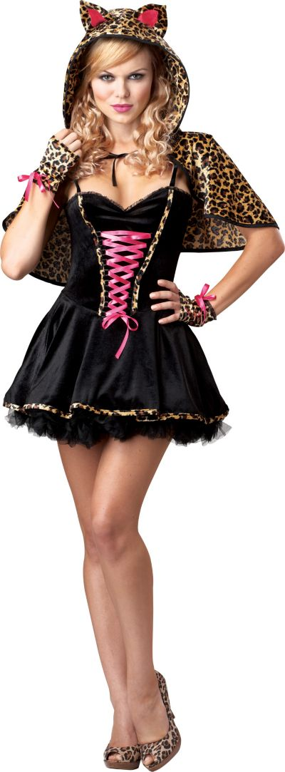 Adult Frisky Kitty Costume Plus Size