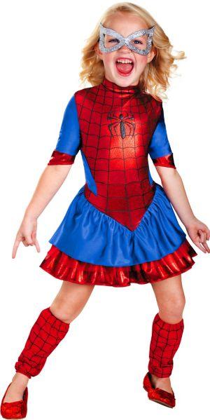 Girls Spider-Girl Costume Deluxe