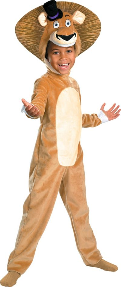 Toddler Boys Alex The Lion Costume Deluxe - Madagascar 3