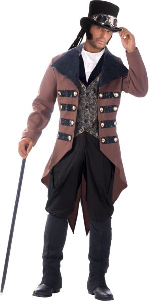 adult steampunk jack costume party city. Black Bedroom Furniture Sets. Home Design Ideas