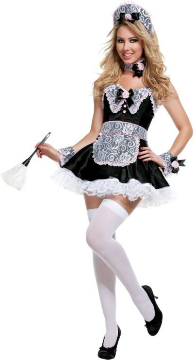 Adult Rose Maid Costume
