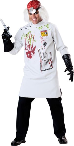 Adult Crazy Scientist Costume
