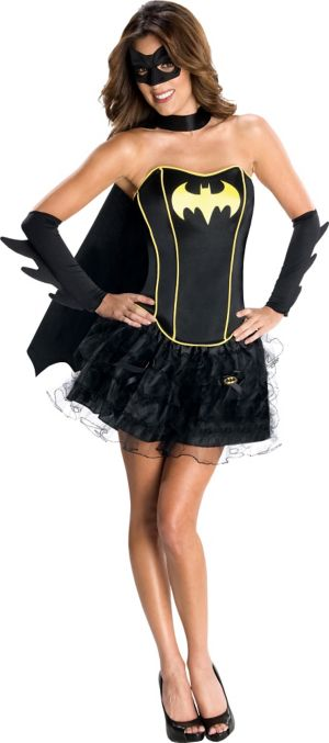 Adult Batgirl Tutu Costume - Batman