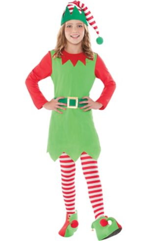 Girls Elf Costume