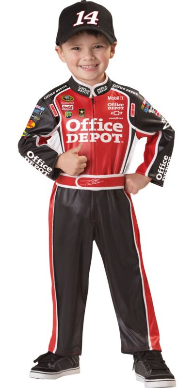Toddler Boys Tony Stewart Costume - NASCAR
