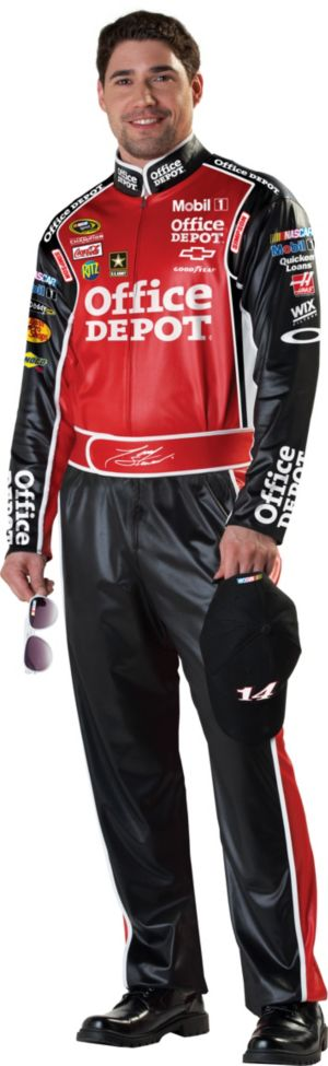 Adult Tony Stewart NASCAR Costume