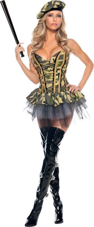 Adult Commando Costume