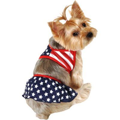 American Flag Dog Bikini