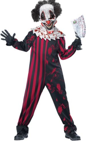 Boys Killer Klown Costume