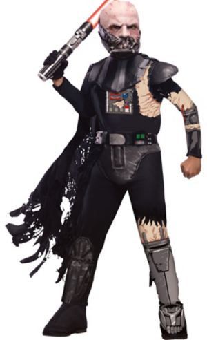 Boys Battle Darth Vader Costume Deluxe - Star Wars