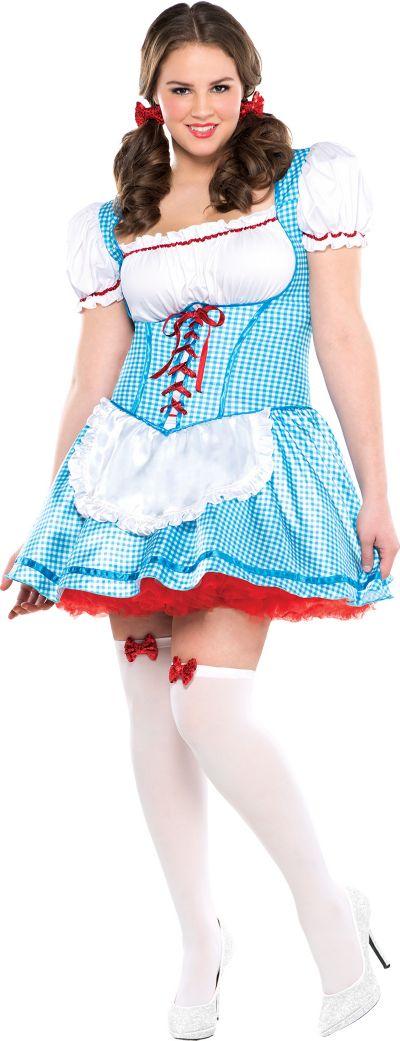 Adult Kansas Cutie Costume Plus Size