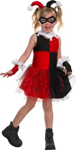Girls Harley Quinn Costume - Batman