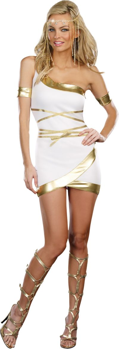 Adult Worship Me Goddess Costume