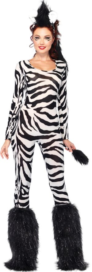 Adult Wild Zebra Costume
