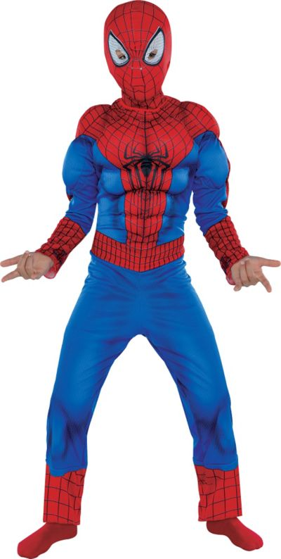 Boys Spider-Man Muscle Costume - The Amazing Spider-Man 2