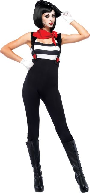 Adult Marvelous Mime Costume