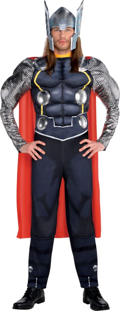 Adult Thor Muscle Costume Deluxe