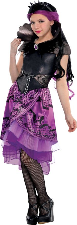 Girls Raven Queen Costume Supreme - Ever After High
