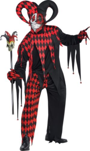 Adult Krazed Jester Costume