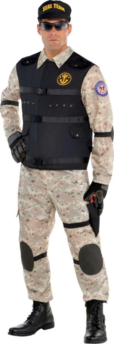 Adult SEAL Team Hero Costume