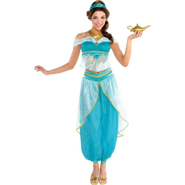 adult jasmine costume couture on the hunt