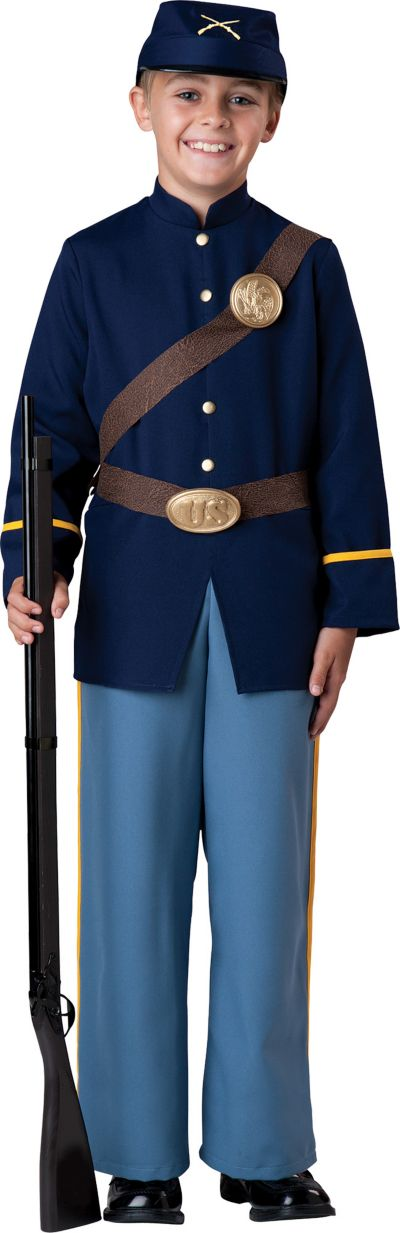 Boys Civil War Soldier Costume