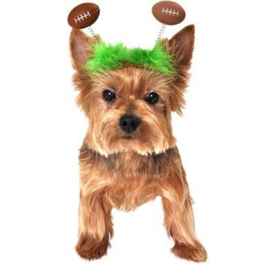 Football Bobble Dog Headpiece