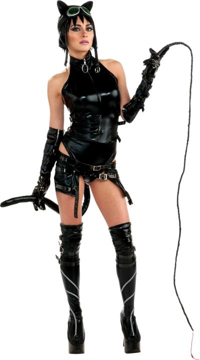 Adult Anime Catwoman Costume - Batman