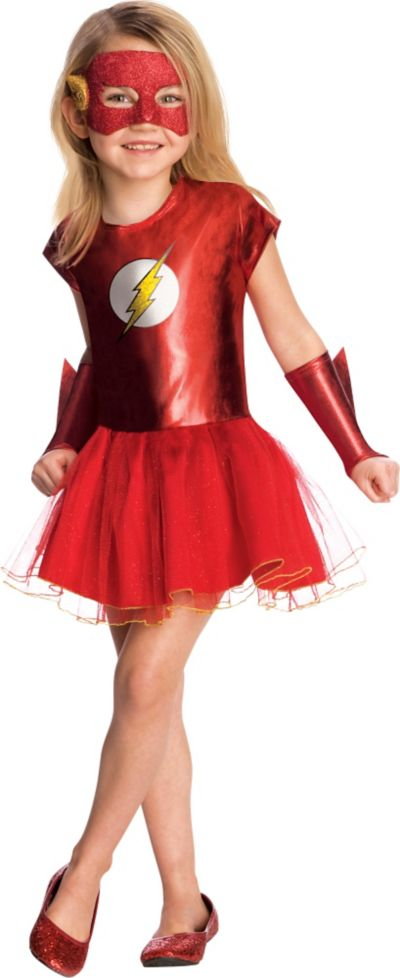 Girls The Flash Costume