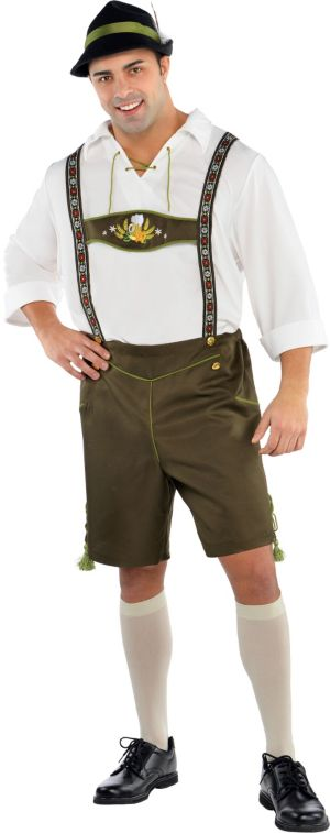 Adult Mr. Oktoberfest Costume Plus Size