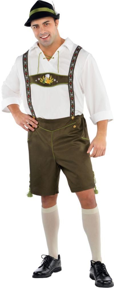 Adult Mr. Oktoberfest Costume Plus Size