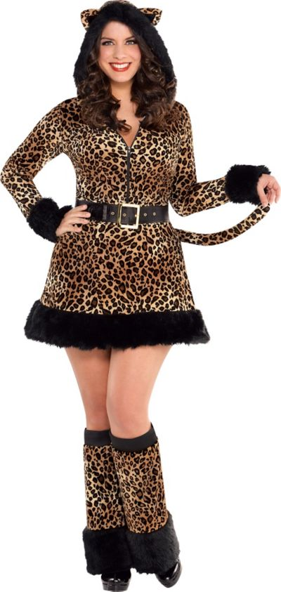 Adult Pretty Kitty Costume Plus Size - Cat