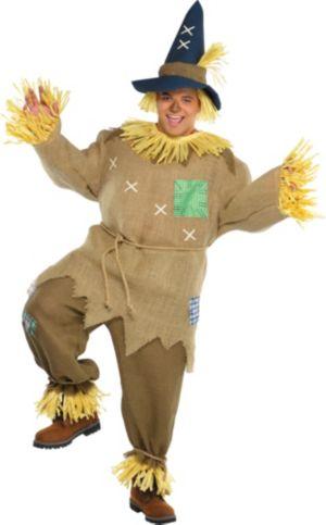 Adult Mr. Scarecrow Costume Plus Size