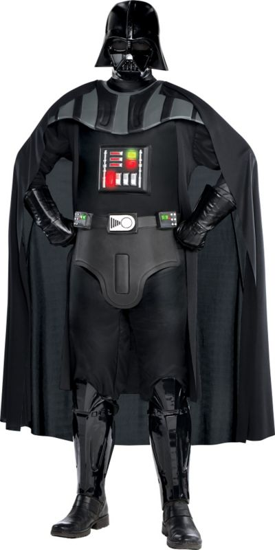 Adult Darth Vader Costume Plus Size Deluxe - Star Wars