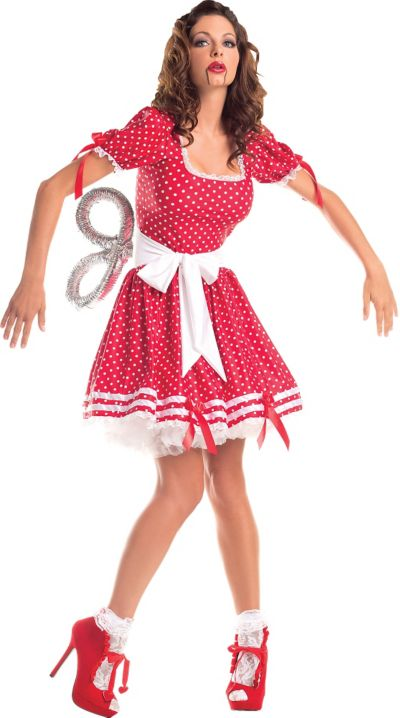 Adult Wind-Up Doll Costume