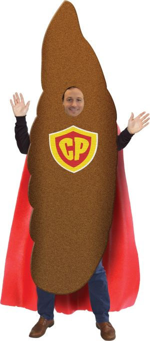 Adult Captain Poop Costume