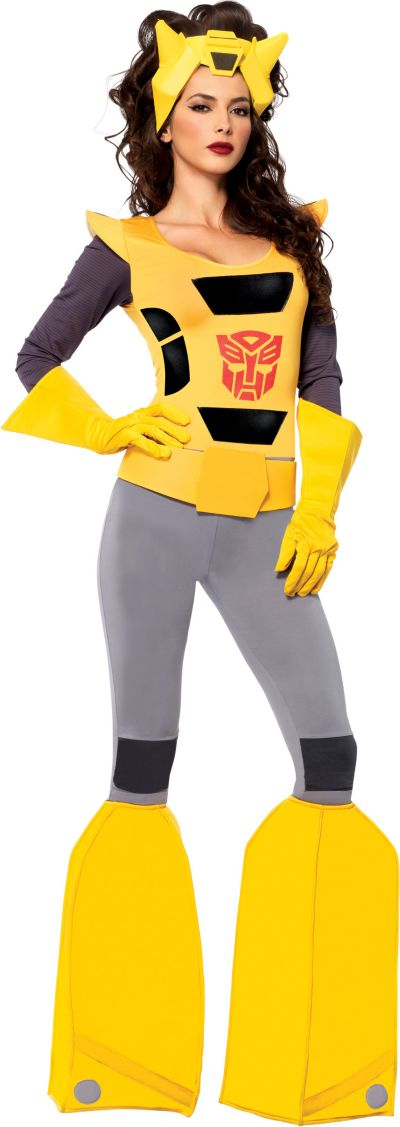 Adult Sassy Bumblebee Costume - Transformers