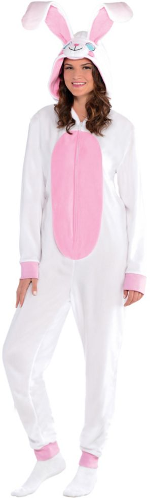 Adult Easter Bunny One Piece Pajamas
