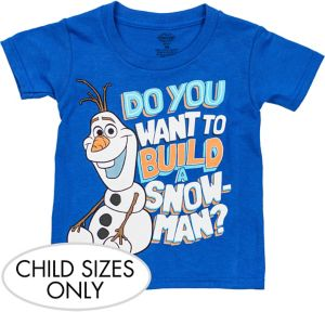 Child Olaf T-Shirt - Frozen
