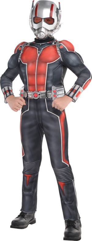 Marvel Muscle Chest Ant Man Costume For Boys Party City