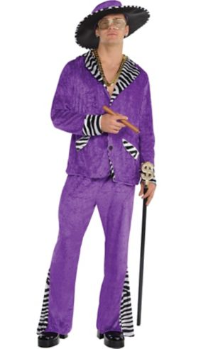 Adult Sugar Daddy Pimp Costume