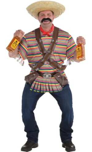 Adult Tequila Bandito Costume Plus Size