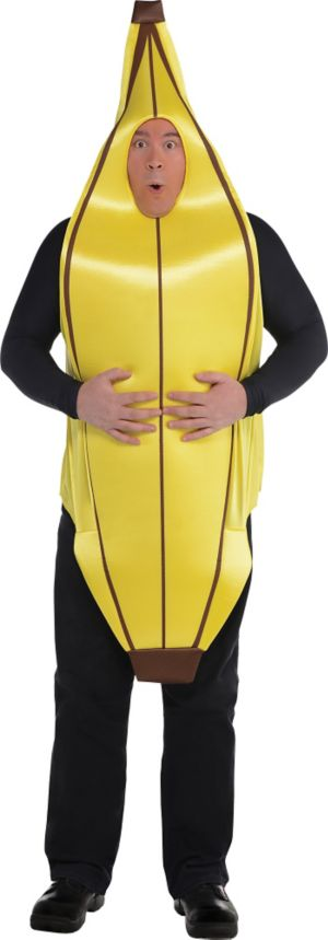 Adult Going Banana Costume Plus Size
